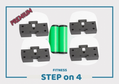 Onlinetraining Step on 4 FITNESS - PREMIUM